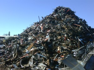 Scrap metal salvage company We Buy Scrap